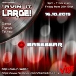 Avin' it LARGE with Basebear 04-2015