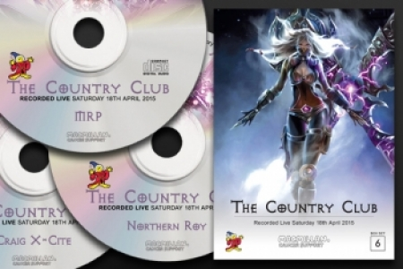 CD Pack 6 - Recorded Live @ The Country Club 2015