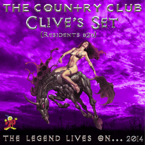 Clive's Set - CC residents B2B LIVE at The Country Club 2014