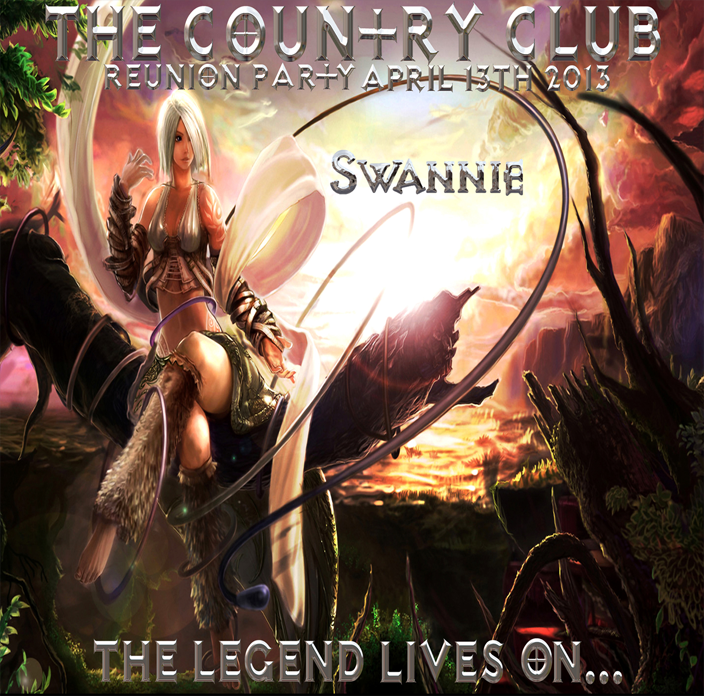 SWANNIE LIVE at The Country Club 2013
