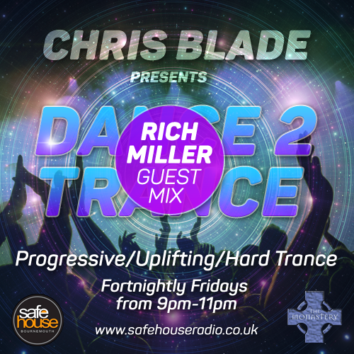 Dance 2 Trance feat Rich Miller 24/02/2017