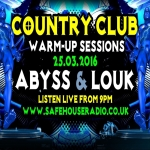 Avin' it LARGE with Abyss Country Club Warm Up