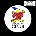 Dave Scott LIVE at The Country Club 20-05-2000